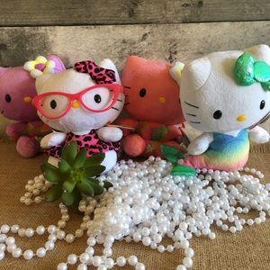 NWT, Ty Hello Kitty beanies- SET OF 4!